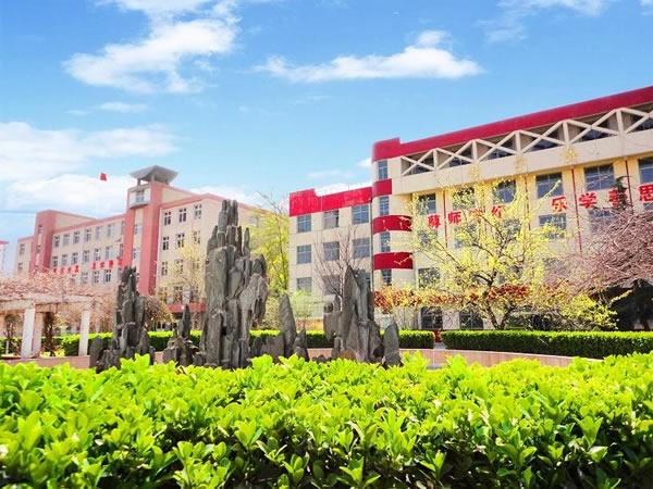 石家庄铁路学校教学楼2