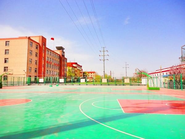 石家庄铁路学校南校区篮球场