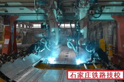 中国动车生产过程