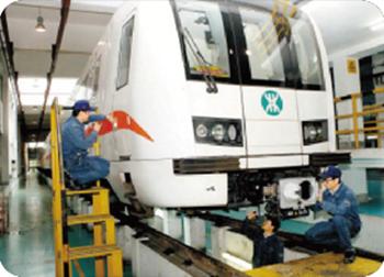 石家庄铁路学校城市轨道交通车辆运用与检修介绍