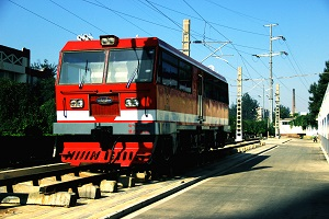 铁路学校轨道车机车实训车