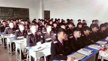 石家庄铁路职业技工学校教室