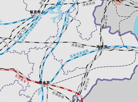 石衡沧港城际铁路