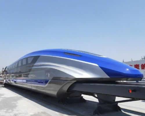 时速600公里高速磁浮试验样车