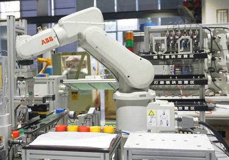 石家庄铁路技校工业机器人专业