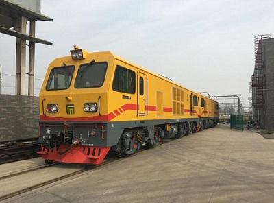 石家庄地铁牵引机车