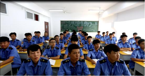 石家庄铁路职业技工学校学生